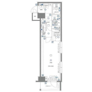 1K Apartment in Nishihara - Shibuya-ku Floorplan