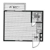 1R Mansion in Sugenotoro - Kawasaki-shi Tama-ku Floorplan