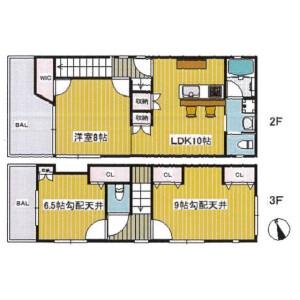3LDK House in Shirokanedai - Minato-ku Floorplan