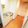 1R Apartment to Rent in Ota-ku Kitchen