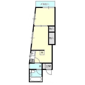 1DK Mansion in Nishinippori - Arakawa-ku Floorplan