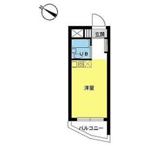 1R Mansion in Yamatocho - Nakano-ku Floorplan