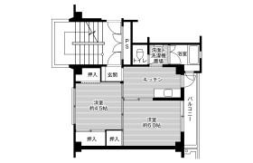 魚津市仏田-2K公寓大廈