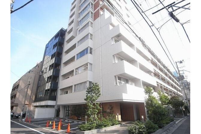2K Apartment to Rent in Minato-ku Exterior