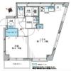 在豊岛区购买1LDK 公寓大厦的 楼层布局