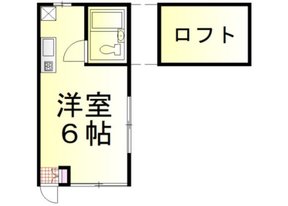 1R Apartment to Rent in Iruma-gun Moroyama-machi Floorplan