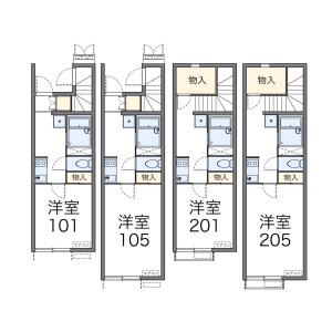 1K Apartment in Minamimagome - Ota-ku Floorplan