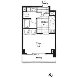 1K Mansion in Minamiyukigaya - Ota-ku Floorplan