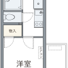 1K Apartment to Rent in Funabashi-shi Floorplan