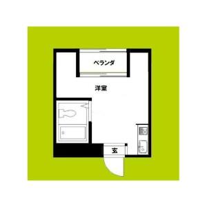 1R Mansion in Shimanochi - Osaka-shi Chuo-ku Floorplan