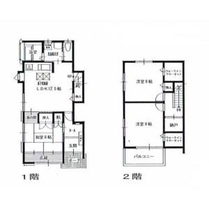 3SLDK House in Funakoshicho - Yokosuka-shi Floorplan