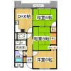 3DK Apartment to Rent in Yao-shi Floorplan