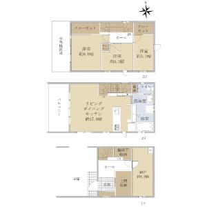3LDK {building type} in Nagamachi - Sendai-shi Taihaku-ku Floorplan
