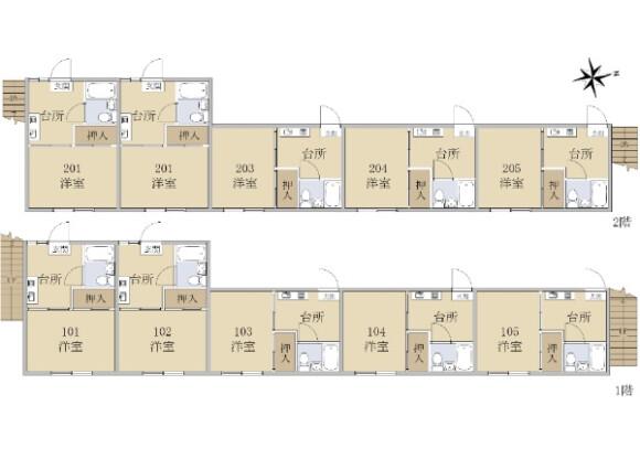 Whole Building Apartment to Buy in Nerima-ku Floorplan