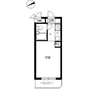 1R Mansion in Hakuraku - Yokohama-shi Kanagawa-ku Floorplan
