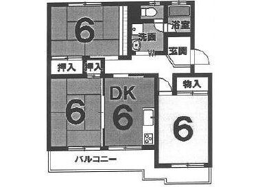 Whole Building Apartment to Buy in Kyoto-shi Nishikyo-ku Floorplan