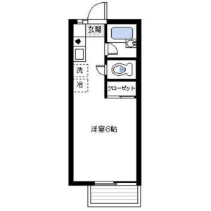 1R Apartment in Sakuradai - Nerima-ku Floorplan