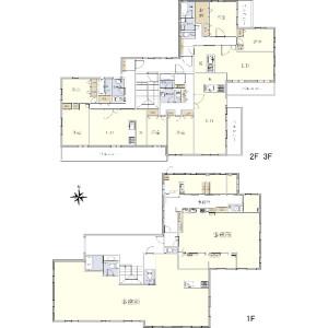 Whole Building {building type} in Takanawa - Minato-ku Floorplan