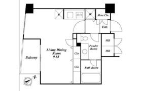 港区南麻布-1R公寓大厦