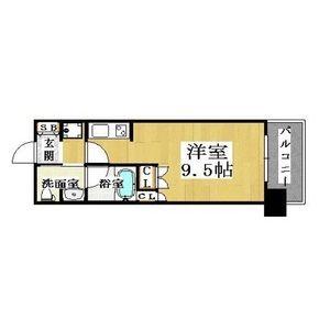 1R Mansion in Inari - Osaka-shi Naniwa-ku Floorplan