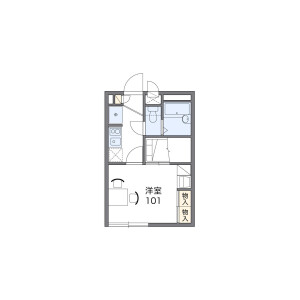 1K Apartment in Taicho - Neyagawa-shi Floorplan
