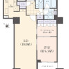 1SLDK Apartment to Buy in Koto-ku Floorplan
