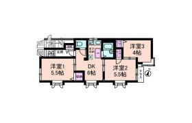 3DK Apartment in Kamiochiai - Shinjuku-ku