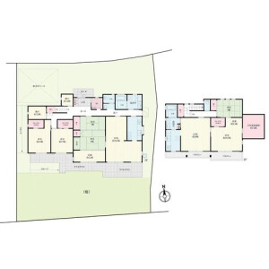4LDK {building type} in Takanodai - Suita-shi Floorplan