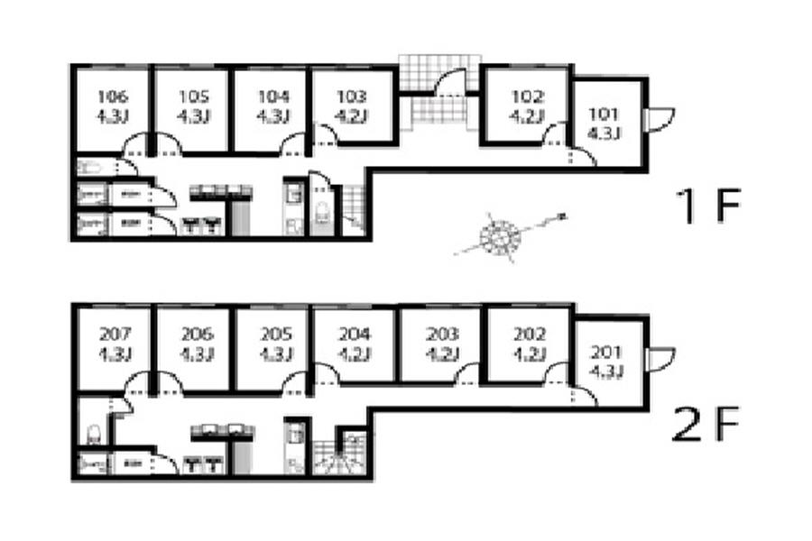 Private Serviced Apartment to Rent in Nakano-ku Floorplan