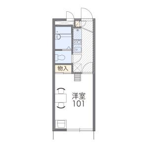 1K Mansion in Minamikamata - Ota-ku Floorplan