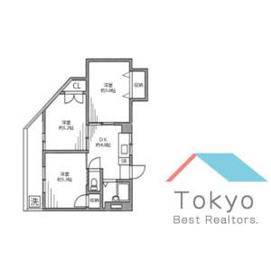3K Mansion in Koenjikita - Suginami-ku Floorplan