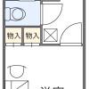 在堺市北區內租賃1K 公寓 的房產 房間格局
