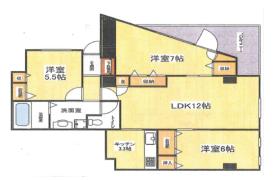3LDK Mansion in Kyodo - Setagaya-ku
