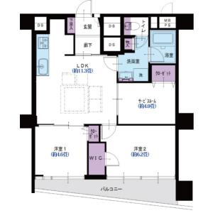 3LDK {building type} in Nishikawaguchi - Kawaguchi-shi Floorplan