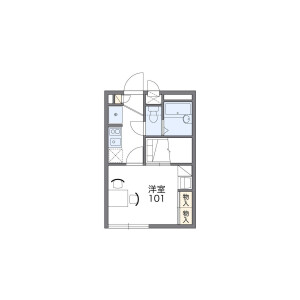 1K Apartment in Kobuchi - Kasukabe-shi Floorplan