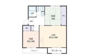 2LDK Apartment in Kamitakamaru - Kobe-shi Tarumi-ku