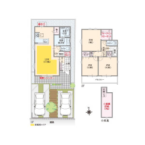 3LDK House in Nishinogawa - Komae-shi Floorplan