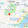 在台东区购买1K 公寓大厦的 地图
