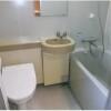 2K Apartment to Rent in Shibuya-ku Bathroom