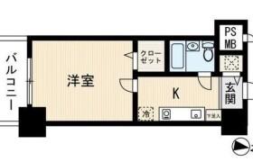 福岡市博多区 - 千代 公寓 1K