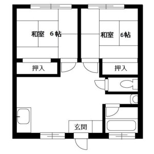 2LDK Apartment in Iriya - Zama-shi Floorplan