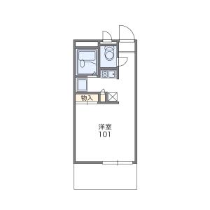 1K Mansion in Koryohigashimachi - Sakai-shi Sakai-ku Floorplan