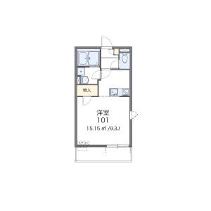 1K Mansion in Oka - Asaka-shi Floorplan