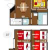 3DK House to Rent in Itabashi-ku Interior
