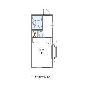 品川区小山-1K公寓 楼层布局