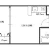 1LDK Apartment to Rent in Osaka-shi Kita-ku Floorplan