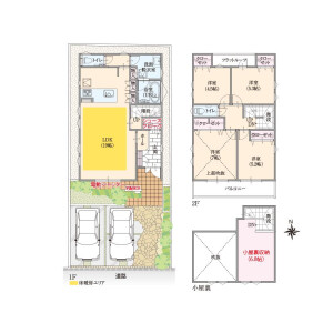 4LDK House in Nishinogawa - Komae-shi Floorplan