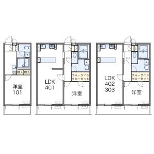 1K Mansion in Hanegi - Setagaya-ku Floorplan