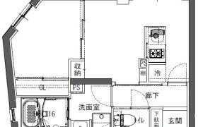 1DK Mansion in Kaitaicho - Shinjuku-ku