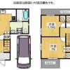 在枚方市購買4LDK 獨棟住宅的房產 房間格局